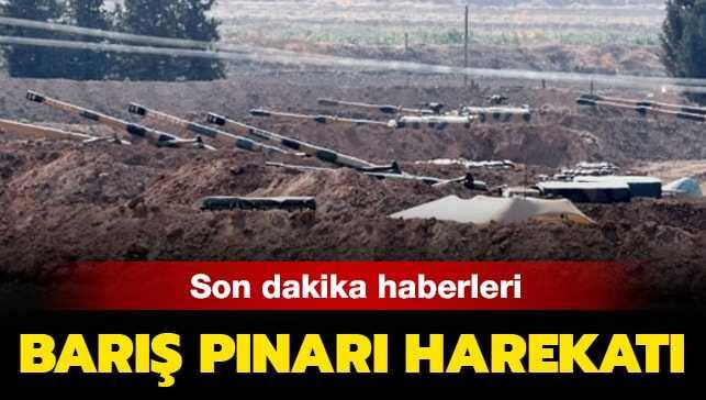 SON DAKİKA… Fırat'ın doğusuna Barış Pınarı Harekatı başladı!