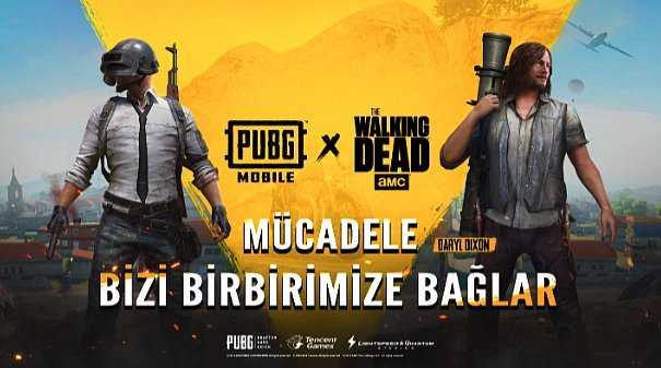 Çorba Parası Artık Zombilerden Çıkacak: The Walking Dead Karakterleri PUBG MOBILE'a Geliyor!