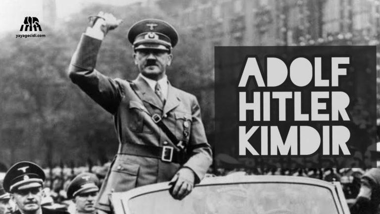 Adolf Hitler Kimdir? Hitler Hakkında Şaşırtıcı Bilgiler!