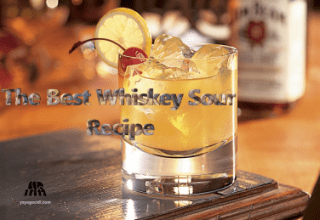 The Best Whiskey Sour Recipe and Vegan Whiskey Sour Recipe