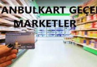 İstanbul Kart Geçen Marketler! Tam Liste