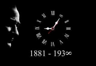 10 Kasım 1938: Gazi Mustafa Kemal Atatürk yaşama gözlerini yumdu..