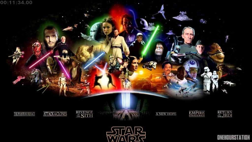 seri filmler, en iyi seri filmler; Star Wars