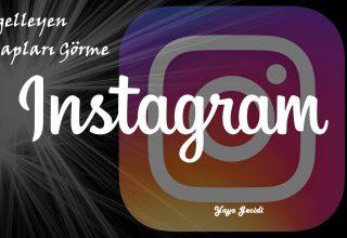 Instagram Engelleyenler Görme Programlı ve Programsız